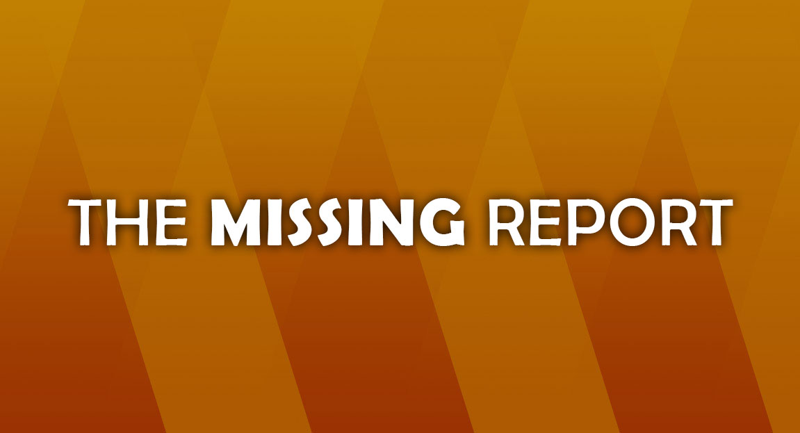 the-missing-report-banner-welcome